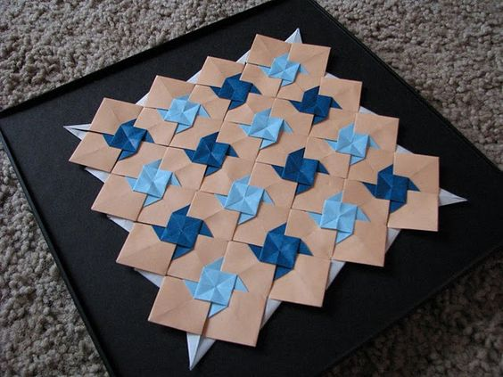 origami quilt - for @marguerite botting: