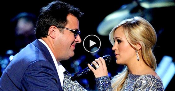 """""""How Great Thou Art"""" Complete With Goosebumps Carrie Underwood with Vince Gill"""