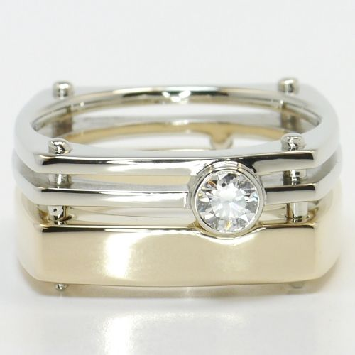 White & Yellow Gold Solitaire Men's Wedding Band https://www.brilliance.com/recently-purchased-rings/white-yellow-gold-solitaire-mens-wedding-band