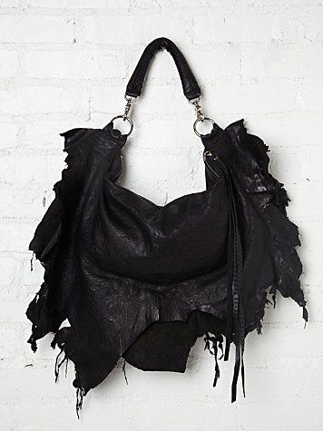 Ridge Ripped Tote - would be a cool design for a top too  ; )