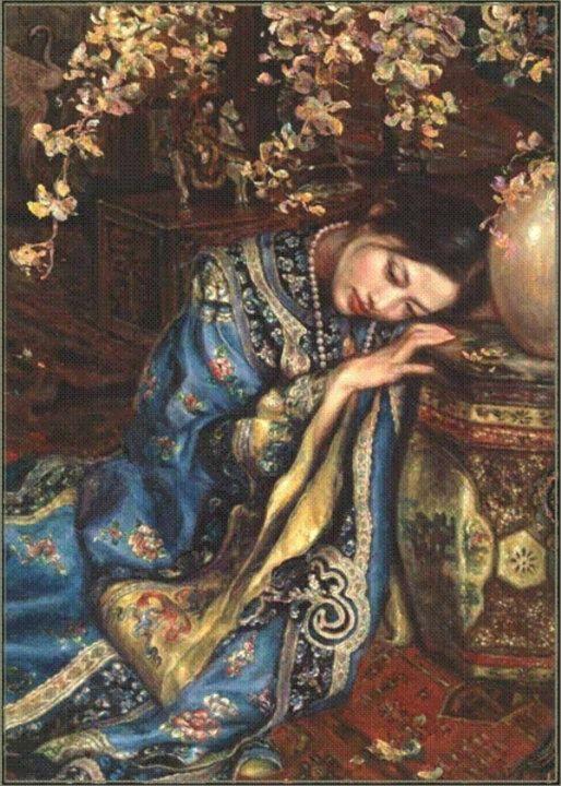 George Tsui Classical Romantic Painter Art Classical Art Art Painting