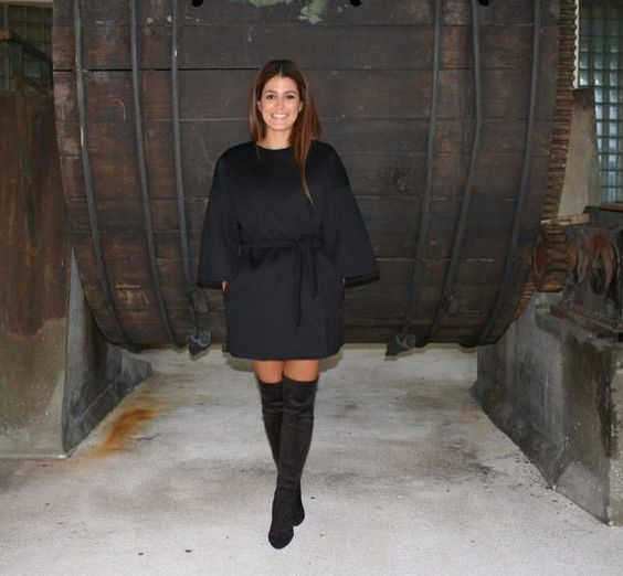 Menina & Moça Black Coat