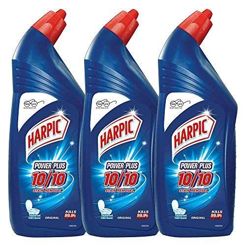 Harpic Powerplus Disinfectant Toilet Cleaner Original Https Www Amazon In Dp B077mcf1yr Ref Cm Sw R Pi Dp U X 4ou Toilet Cleaner Harpic Cleaning Items