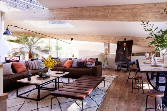 Frank Gehry / Malibu / Patrick Dempsey / home / Architectural Digest
