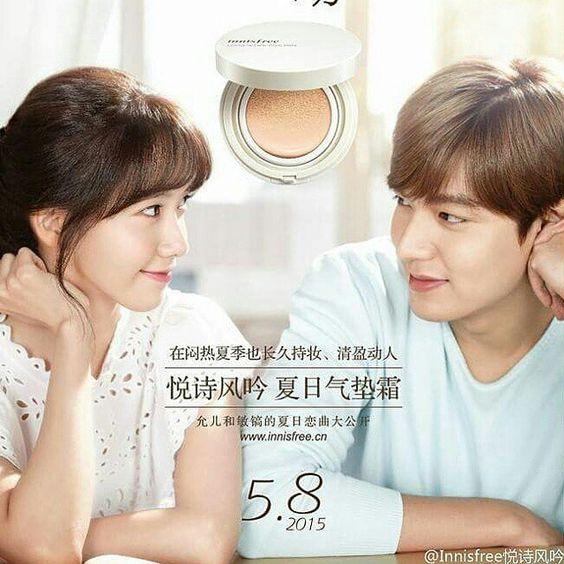Lee Min Ho for Innisfree
