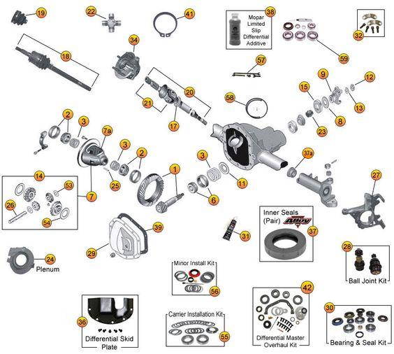 In Addition Dana 30 Front Axle Diagram On Dana 44 Axle Parts Diagram