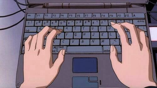 K E Y B O A R D Keyboard Aesthetic Anime Kawaii Hands Uwu Owo Laptop Qwq Anime Scenery Aesthetic Anime Anime Gifts