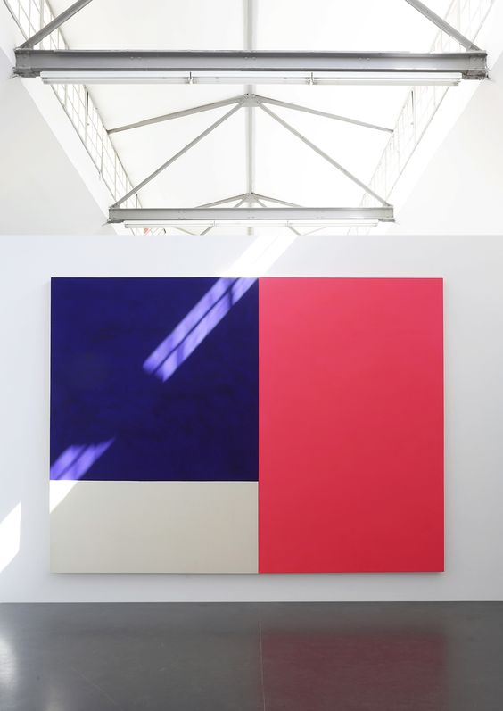 Christian Muscheid - Ausstellung -walter storms galerie - München - Interaction of color - concrete jungle - minimal art - architecture - universal painting
