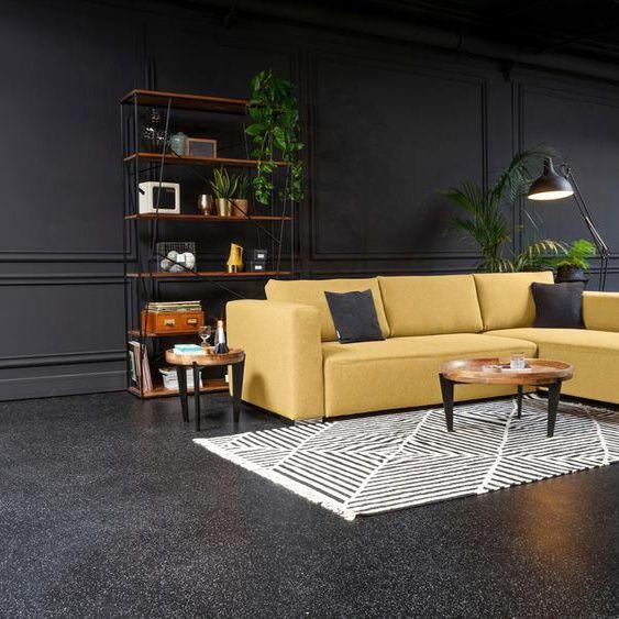 Tom Tailor Eck Sofa Heaven Style Xl Gelb Stoff In 2020 Ecksofa Blauer Stoff Sofa