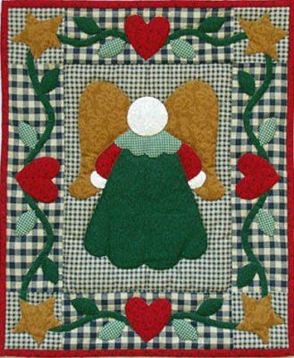 Christmas Angel Quilt Pattern Quilt Kits Amish Wall Quiltkits and Patterns *~*Sewing ...