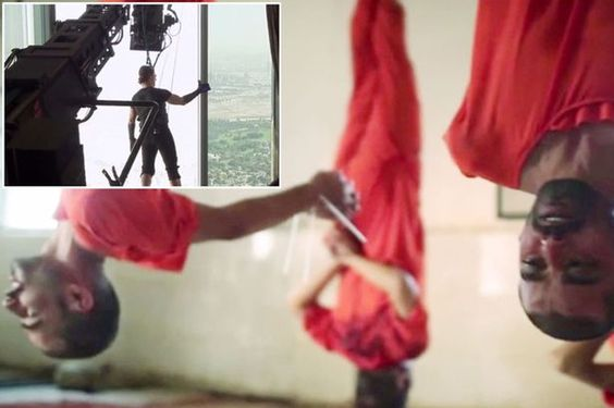 Sickening new ISIS video features Tom Cruise as 'US spies' are hung from meat hooks and slaughtered like sheep - Mirror Online