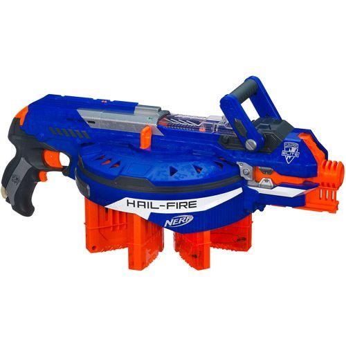nerf hailfire | NERF N-Strike Elite Hail-Fire Blaster with ...