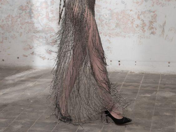 """Asari"" - Galia Lahav Abendkleid der ""Black Pearl"" Kollektion"