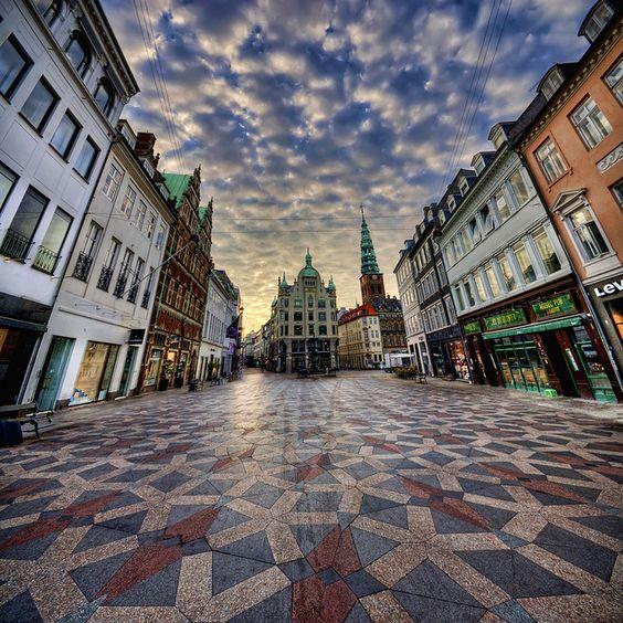 Copenhagen Denmark And Walking Street On Pinterest
