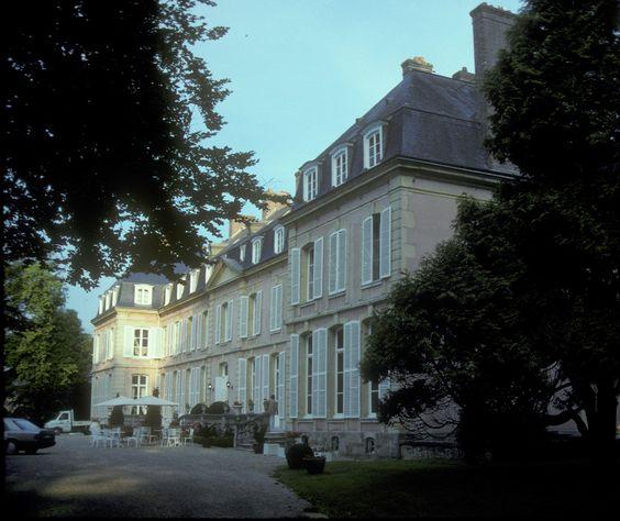 Château de Sassetot, maison d'été de Sissi l'Impératrice, Normandie, France