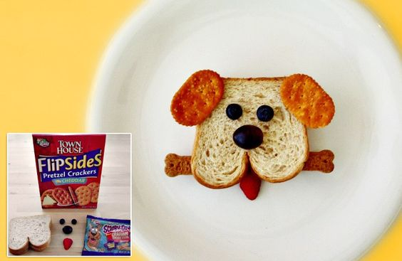 Kitchen Fun With My 3 Sons: Fun & Easy Kids Lunches..Puppy Lunch!