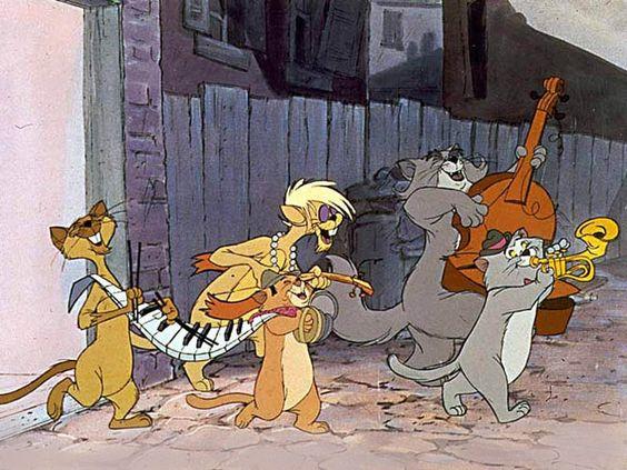 ジャズ猫たち