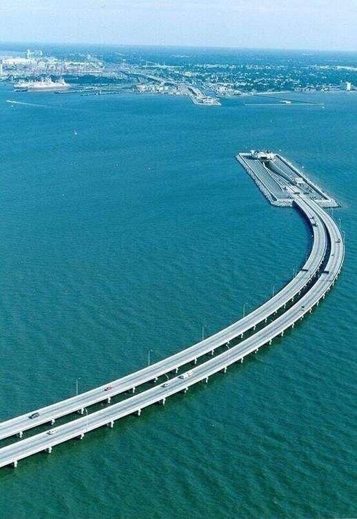 Undersea tunnel linking Sweden and Denmark