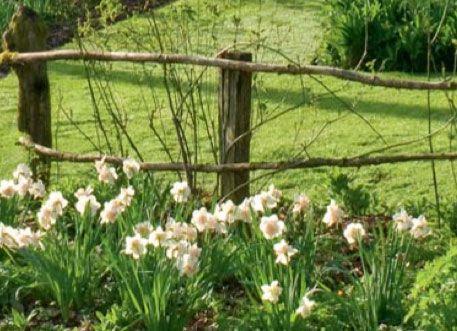 Barri re de jardin garden fence my farm pinterest for Barriere de jardin