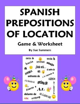 Preposition Test Worksheet - Free Printable Educational Worksheet