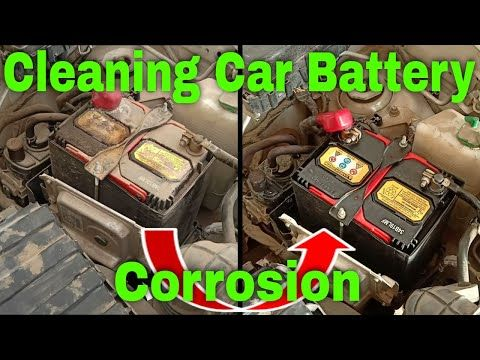 How To Clean Car Battery Corrosion How To Clean Car Battery Youtube Car Cleaning Car Battery Corrosion
