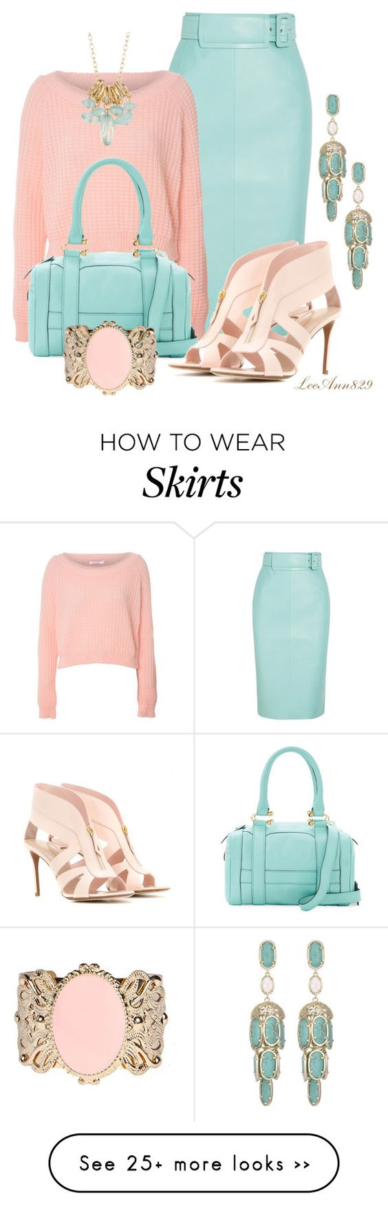 """jumper and skirt contest"" by leeann829 on Polyvore featuring moda, Balenciaga, Glamorous, MY SUELLY, Kendra Scott, Nicholas Kirkwood e 14th & Union"
