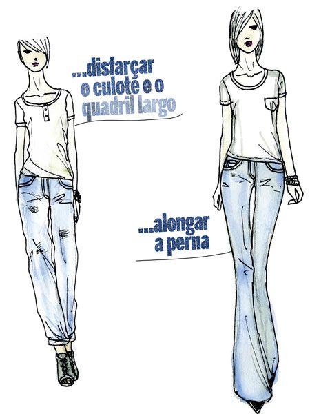Jeans certo para seu biotipo.