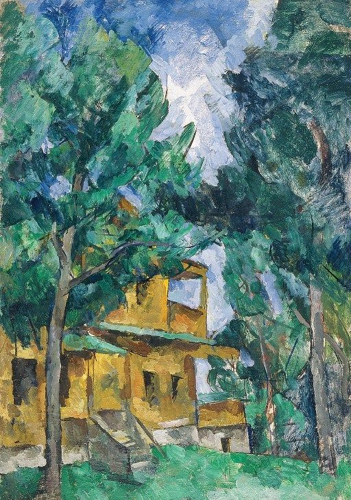 """Yellow Dacha, Kuntsevo"" by Petr Konchalovsky, 1919"