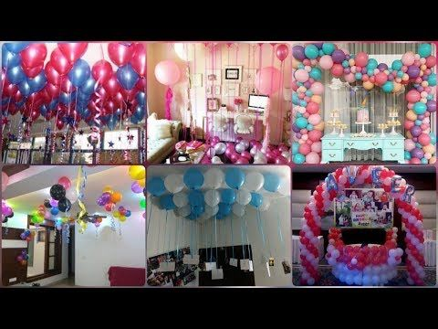 Balloon Decoration Ideas For Home Party Decoration Ideas With