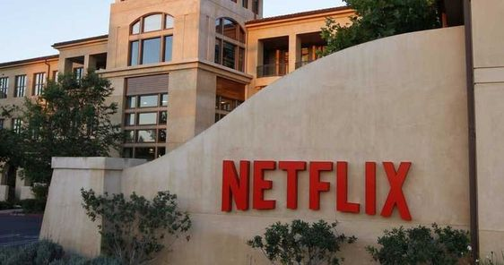 Netflix Headquarters on lockdown