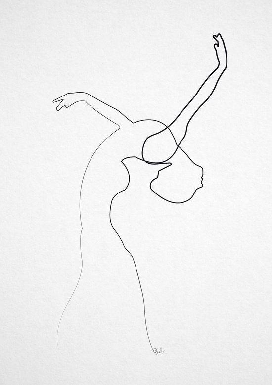 Ilustraciones Realizadas Con Solo Un Trazo Continuo Cultura Inquieta Arte Minimalista Produccion Artistica Arte De Silueta