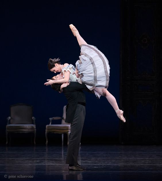 I loved Lady of the Camellias (opened last Thursday 2-26-15).  Photo Credit: Kathleen Breen Combes and Yury Yanowsky of Boston Ballet in Val Caniparoli's Lady of the Camellias ©Gene Schiavone