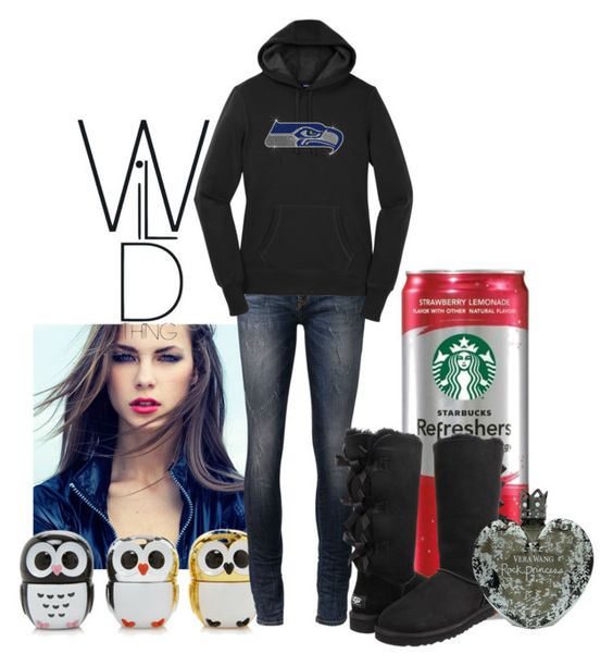 """I Need Energy!"" by leelee107 ❤ liked on Polyvore featuring Forever 21, R13, UGG Australia and Vera Wang"