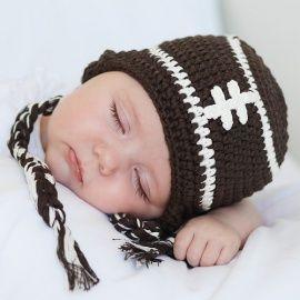 Disfraz para bebes chicos rugby gorros divertidos para recien nacidos www.elreciennacido.com
