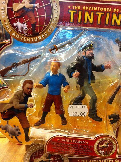 Tumblr(café blog) - Spielberg a bien créé un nouveau Tintin   Totem