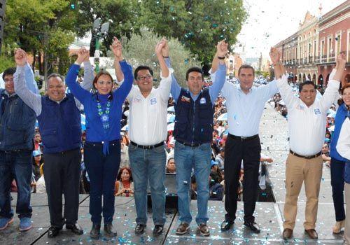 """""""El único que puede ganarle al PRI en el 2°distrito se llama Miguel Ángel Polvo""""  RMV"""