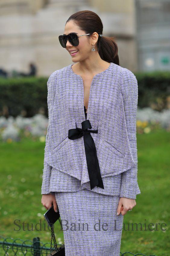 Araya Hargate in Paris for #fashionweek