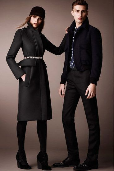 Burberry Prorsum  Pre-Fall 2013  Photos courtesy of Burberry Prorsum