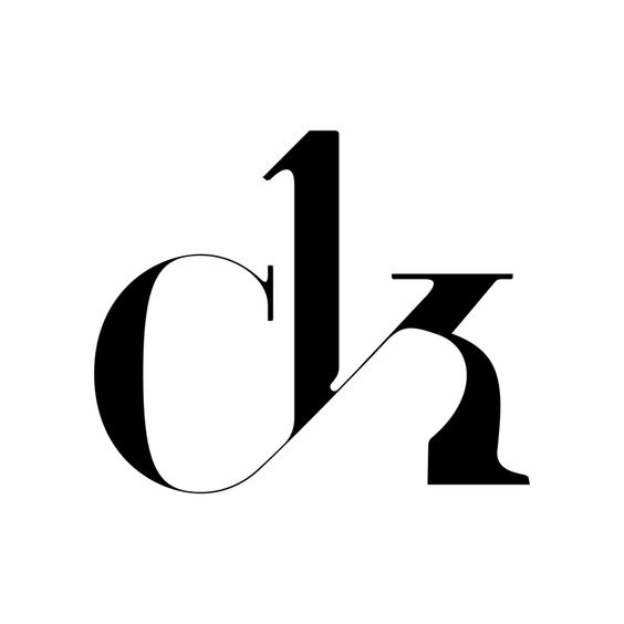 ck Ligature from the new typeface by Moshik Nadav - Paris. See it all on…