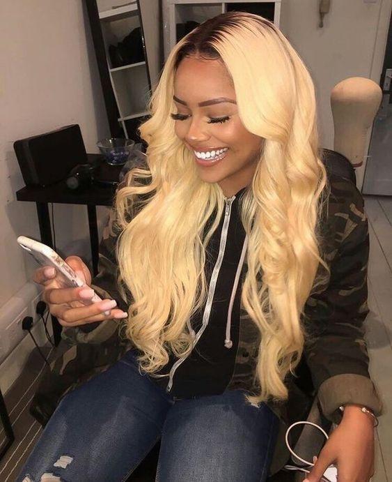 Black Hair To Blonde Sew In Hair Weave Styles This Is Hair Color 2018 Summer Best Look Hair Styles Long Hair Styles Wig Hairstyles