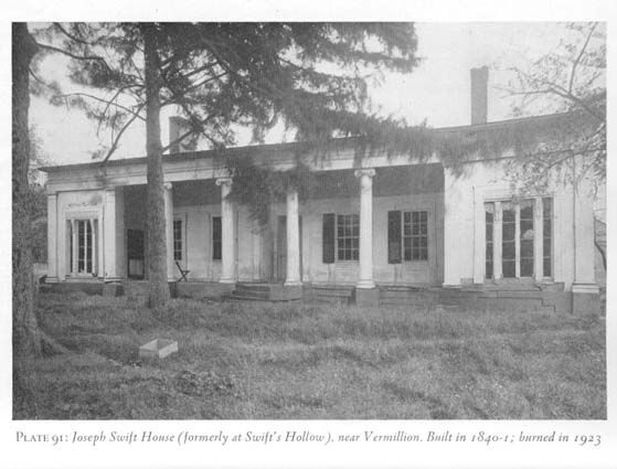 joseph swift house  burned 1920's Vermilion oh - Google Search