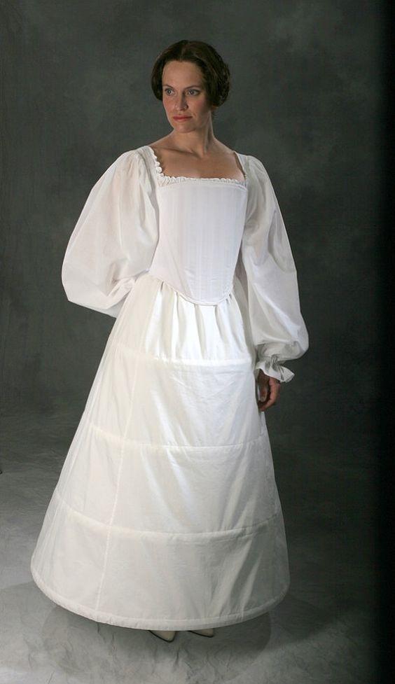 c. 1560 Tudor Elizabethan historic underwear ensemble $846: