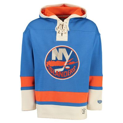 New York Islanders Old Time Hockey Lacer Heavyweight Pullover Hoodie ... 286be3829