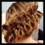 Diagonal Bow Braid | Cute Braided Hairstyles