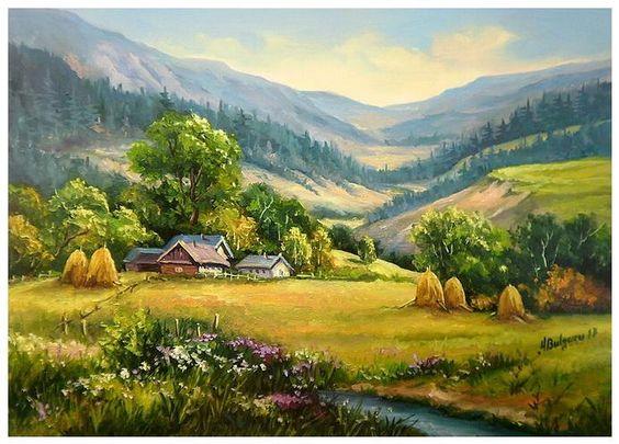 contoh gambar lukisan naturalisme 3