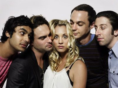 the Big Bang Theory -- love this show!