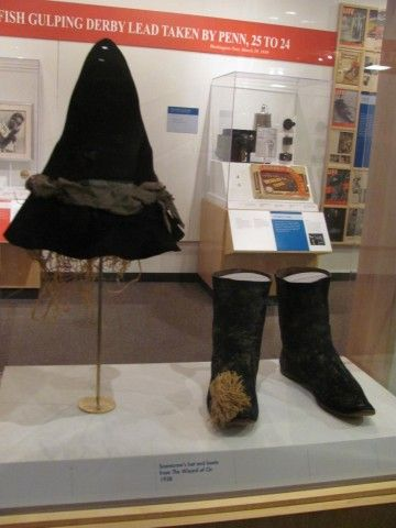 Scarecrow costume from Wizard of Oz movie (American History)