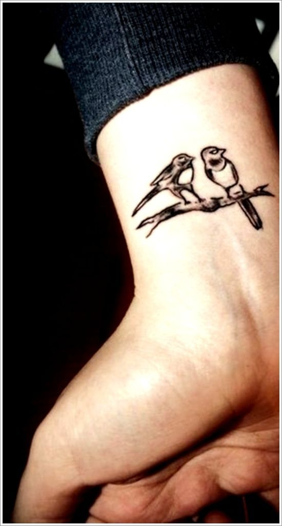 45 Amazing Bird Tattoo Designs For Men And Women Two Birds Tattoo Bird Tattoo Men Simple Bird Tattoo