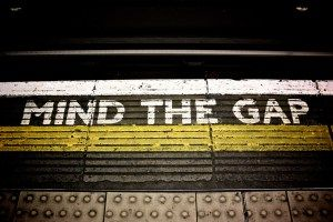 Mind the Gap http://afhogan.com/mind-the-gap/
