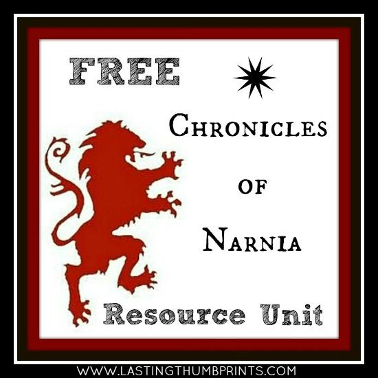 FREE Narnia unit study, printables, coloring pages, Turkish Delight recipe, & more!